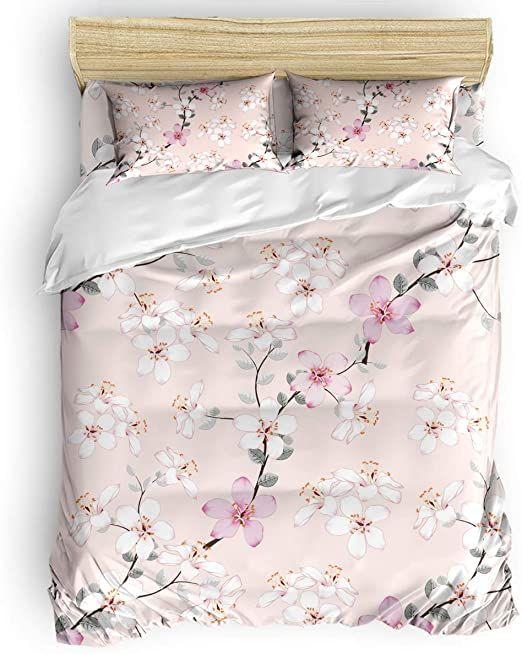 Pin By Liliopp On 5 King Bedding Sets Duvet Cover Sets Flower Duvet Cover
