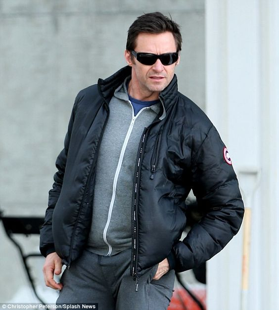 Canada Goose chilliwack parka replica 2016 - Hugh Jackman in the Lodge Down Jacket from Canada Goose. Warm and ...