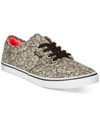vans atwood ox blood lipstick