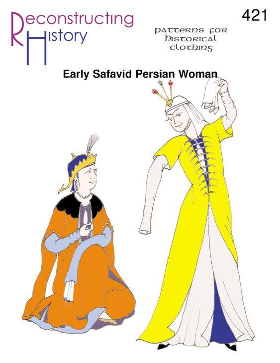 Safavid Period Woman | 16th Century Persian Woman | Safavid Persian Woman