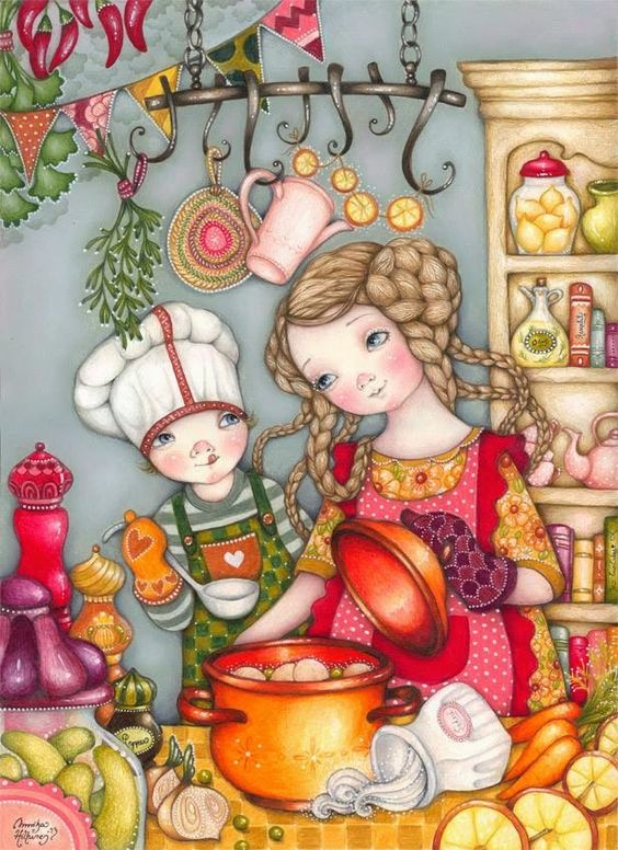 Pinzellades al món: Anem a cuinar! / Vamos a cocinar! / Let's cook!