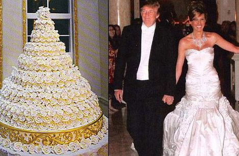 donald trump wedding dress
