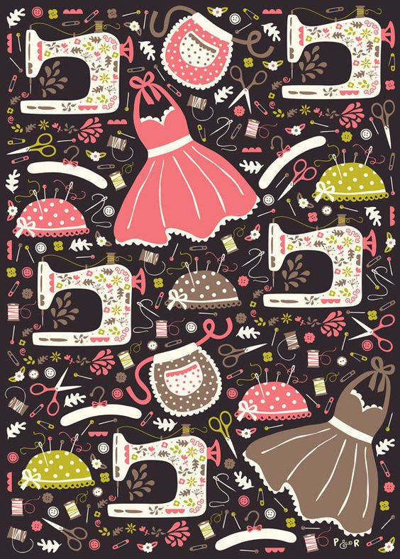 Vintage Collection by Poppy & Red , via Behance