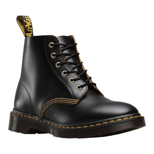 Dr. Martens 101 6 Eye Boot | Boots, Leather boots, Mens