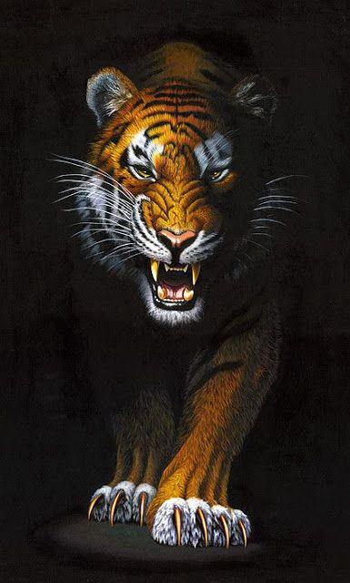 45 Iphone Wallpapers Beautiful Iphone Wallpapers Tiger Wallpaper Tiger Canvas Tiger Artwork