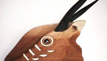 Sculpture sur bois // Antilope