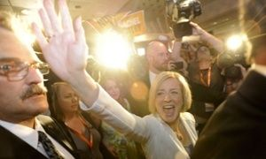 Guardian- New Democrats win Alberta election as Canada's oil sands dump conservatives