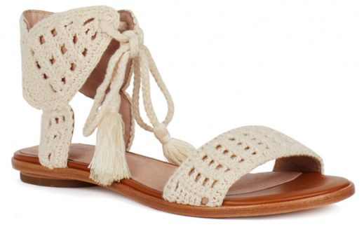 Love these crochet sandals