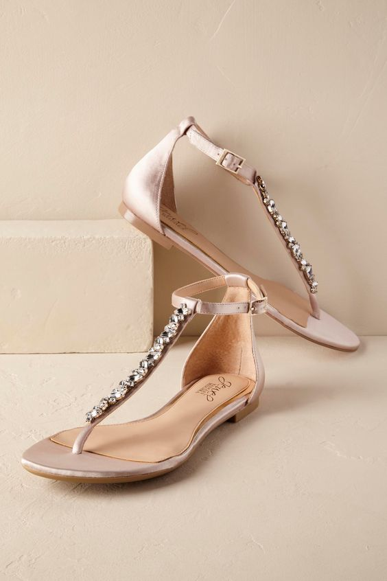Christine Sandals from @BHLDN