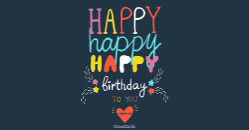Send This Free Happy Happy Happy Ecard To A Friend Or Family Member Send Free Birthday Eca Birthday Card Pictures Happy Birthday Email Email Birthday Cards