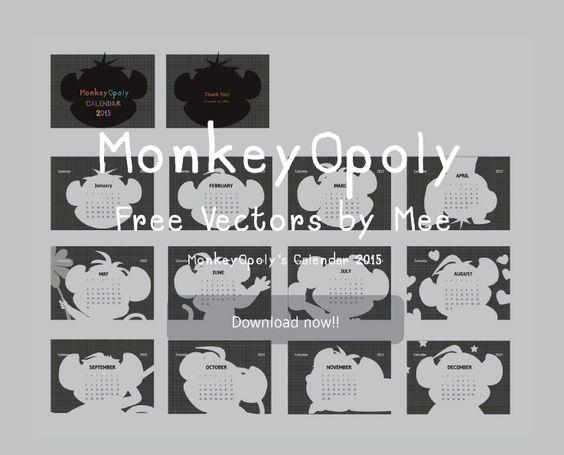 MonkeyOpoly's Calendar 2015