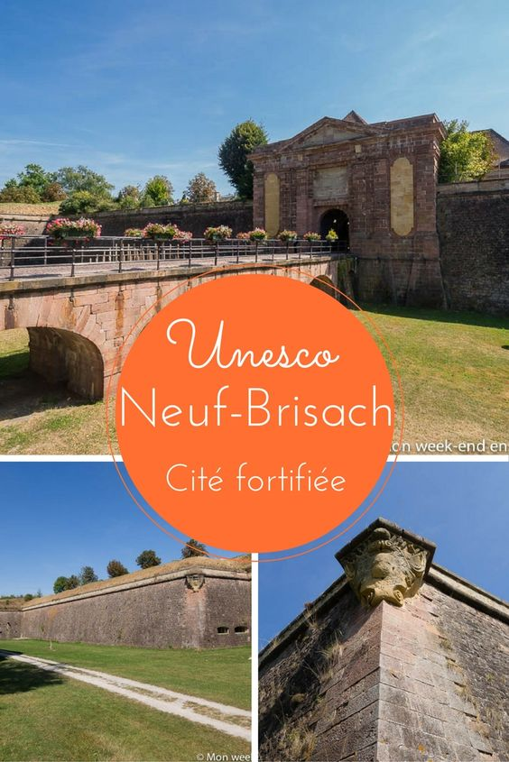 Avis sur la visite de la ville de Neuf-Brisach en Alsace, cité fortifitée par vauban et classée au patrimoine mondial de l'Unesco