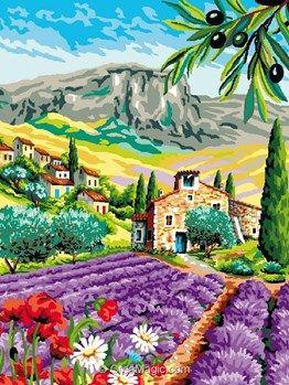 Provence à l'ancienne canevas de Mimo Verde