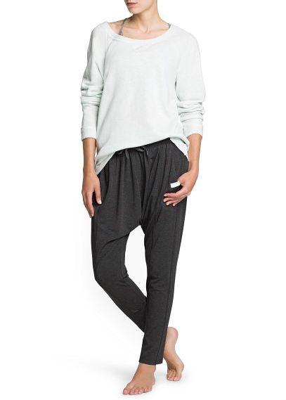 Yoga - Relaxed sweatshirt #MANGOSPORT #SPORTWEAR #SPORT  #FW13