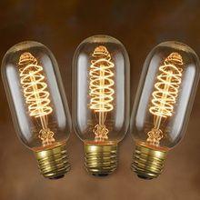 Edison Bulb T14 Spiral