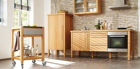 Freistehende Küchen, Singleküche, Modulküchen, Designer Küche, Massivholz |  Bloc | Pinterest | Showroom, Kitchens And Bedrooms