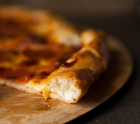 Pizza crust never looked so sexy