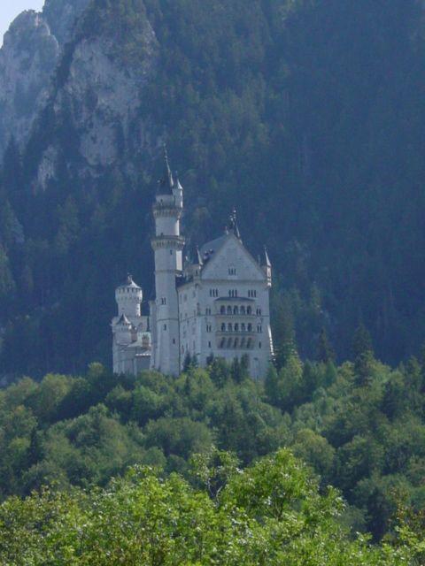 Schloss Hohenschwangau in southern Germany