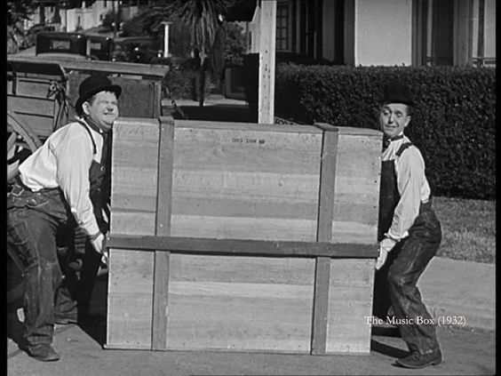 The Music Box (1932) - Probably the funniest Laurel and Hardy movie?!:
