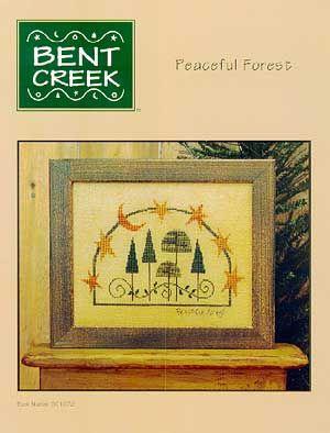 Schema punto croce Peaceful Forest 01