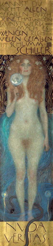 Gustav Klimt - Nuda Veritas, 1899