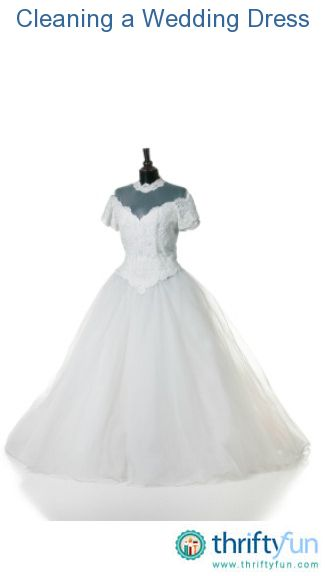 Formal dresses wedding and cleaning on pinterest for Where to dry clean wedding dress