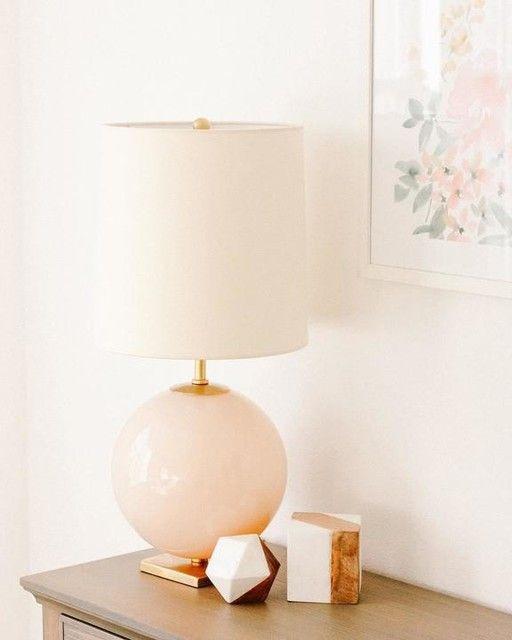 Elsie Table Lamp Pink Table Lamp Table Lamp Modern Table Lamp