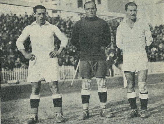 1931-1936. Ciriaco, Zamora y Quincoces con el Real Madrid
