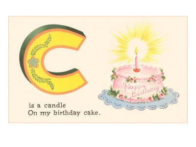 C is for Candle