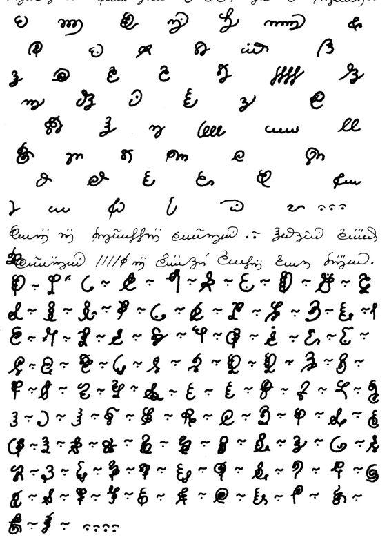 Scans of the Codex Seraphinianus Script