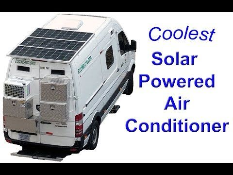 Solar Tesla Lithium Battery Powered Air Conditioner For Camper Vans Rvs Battery Powered Air Conditioner Solar Air Conditioner Solar Powered Air Conditioner