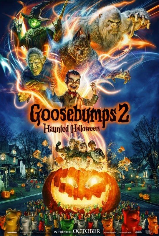 Goosebumps 2 Arrepios No Halloween Filme Ver Doblado Portugues