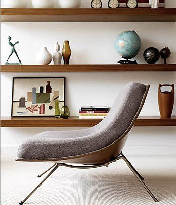 A Canadian design.  James Donahue's Coconut Lounge Chair, Winnipeg 1950's.