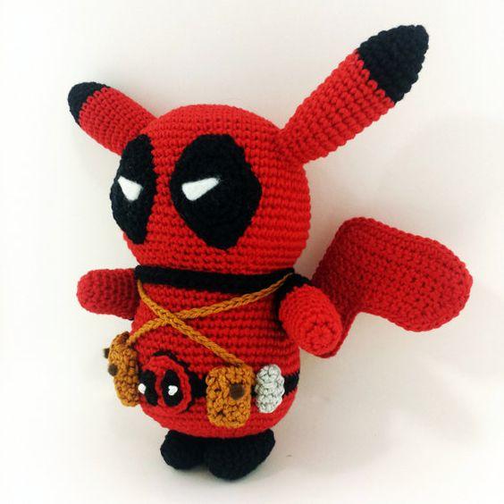 Amigurumi Crochet Dress Pattern : Pikachu, Amigurumi and Crochet dolls on Pinterest