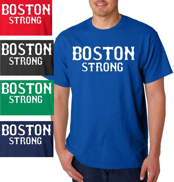 Shirts shops and boston on pinterest for Boston strong marathon t shirts
