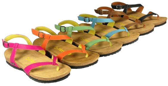 For those who like a little more security of a back strap.  California Footwear Co. Coronado. Available Spring 2013.