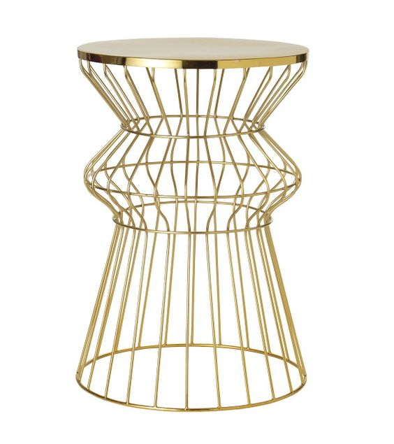 Brass Coffee Table Target: Target's New Threshold Brass Table Spring 2013
