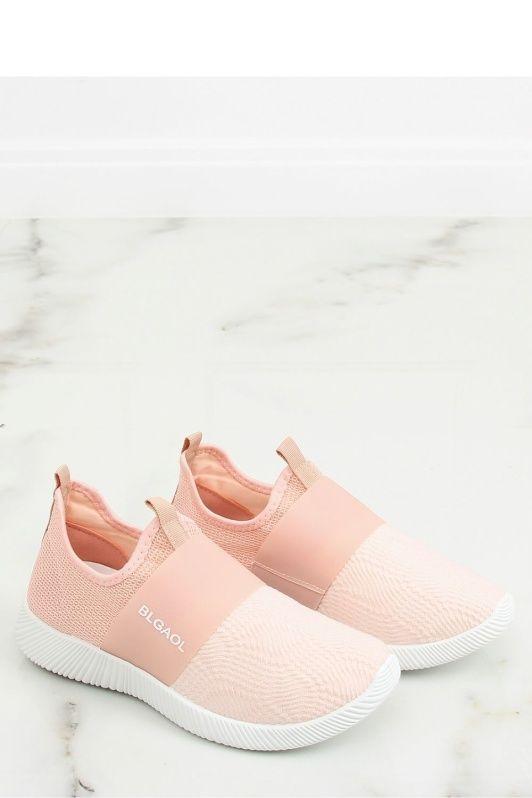 Sportskor för aktiv Dam i rosa, vit och
