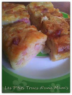 Les P'tits Trucs d'une Mam's: Cake lardon/fromage/oignon