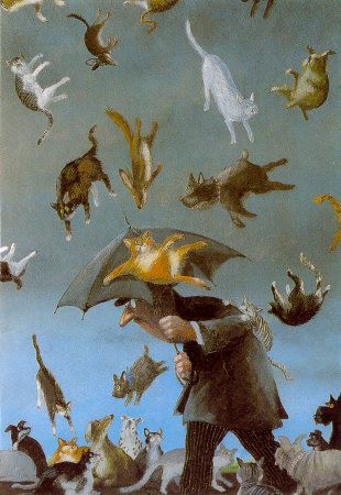 Raining cats and dogs: