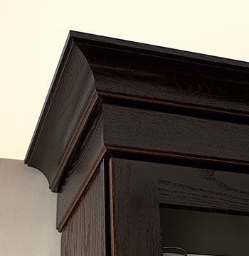 Contemporary crown molding kitchen cabinets detroit for Crown molding installation kitchen cabinets