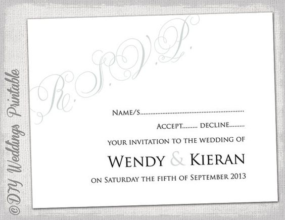 Wedding rsvp template download diy silver gray calligraphy wedding rsvp template download diy silver gray calligraphy parfumerie printable response card digital wedding in word to print at home pinterest pronofoot35fo Images