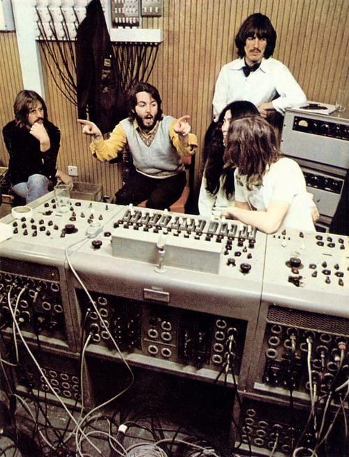 Beatles in studio
