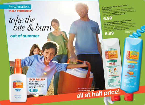 2 in 1 - bug guard & sunscreen