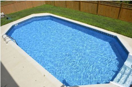 Ultimate 16 X 32 Grecian Pool Kit With Walk In Step Pool Kits In Ground Pools Inground Pools