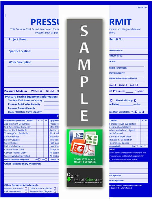 Method Statement Risk Assessment Health \ Safety Templates - sample health risk assessment