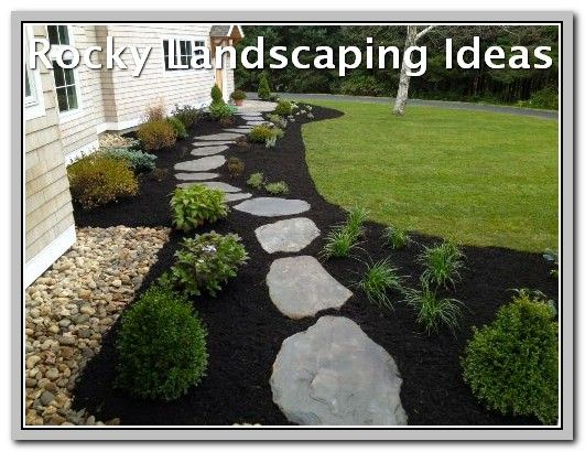 How To Keep Your Yard Looking Nice In The Winter Landscaping Lovers Mulch Landscaping Landscaping With Rocks Landscape Design