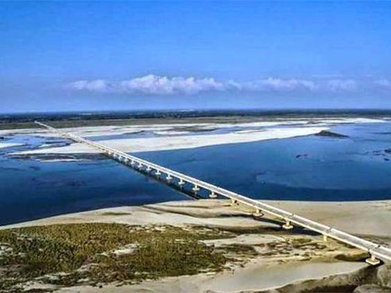 Asia's longest River Bridge in India