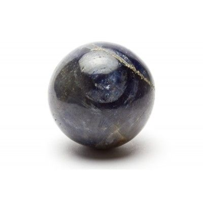 A Blue Star Sapphire 25mm Sphere from India - AA Grade £125.00 #Venusrox #Crystals