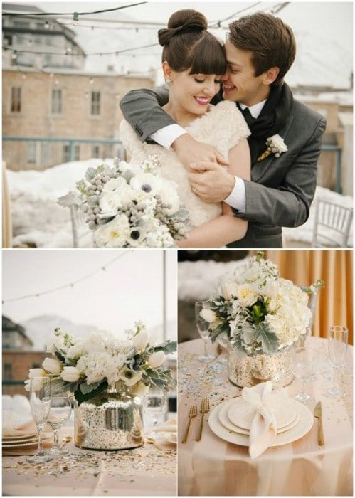 20 Diy Wedding Decor Ideas To Plan Your Winter Wedding On A Budget Don T You Just Love A Winte Diy Wedding Decorations Wedding Decorations Diy Winter Wedding
